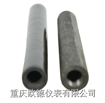 Cast iron thermocouple protection tubes